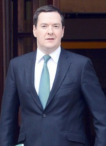 George Osborne offered the Ukraine a blank cheque last night to turn the ravaged country around