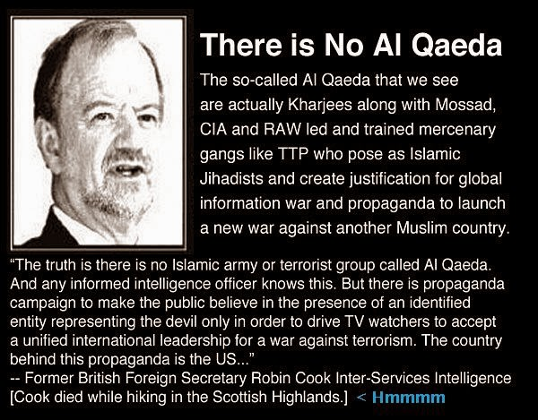 Image result for there is no al qaeda