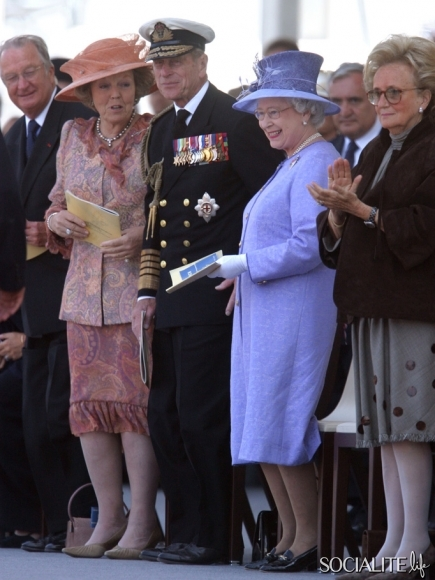 King Albert, Queen Beatrix, Prince Phillip, Queen Elizabeth Getty Images Sean Gallup
