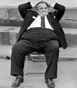 Bully: Paedophile Cyril Smith is said to have asked an editor to bury the story