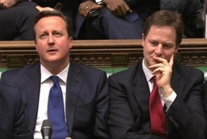 David Cameron, Nick Clegg