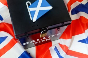Scotland Ballot Box