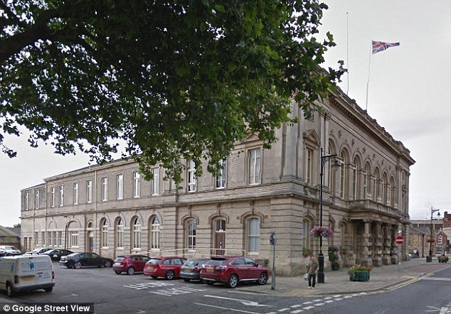 The social workers, employed by North East Lincolnshire council (headquarters above), were named under new guidance for the family courts intended to make proceedings more transparent