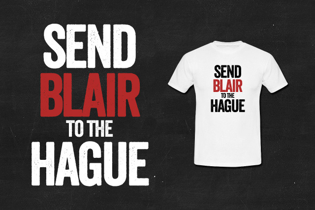 Send Tony Blair to the Hague
