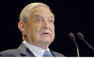 George Soros has funded the Ukrainian street uprisings through the Open Society Institute.