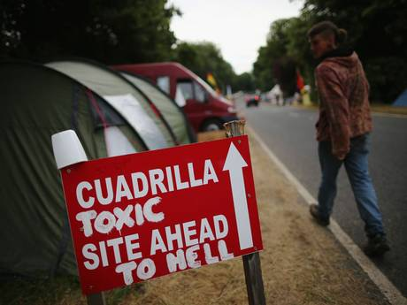 Fracking firm, Cuadrilla, has been the subject of fierce protests in Lancashire and West Sussex