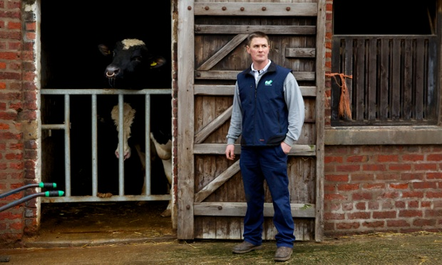 Robert Sanderson is worried about the impact of fracking on his 400 acre dairy farm.