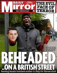 daily mirror beheading frontpage copy