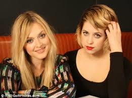 Fearne and Peaches