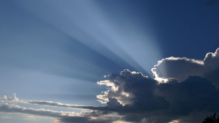 Rays From Clouds