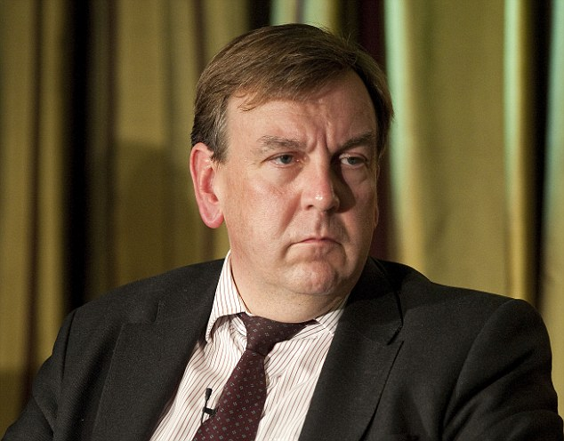 Half-brother: Napier is related to John Whittingdale (pictured), Conservative MP for Maldon in Essex