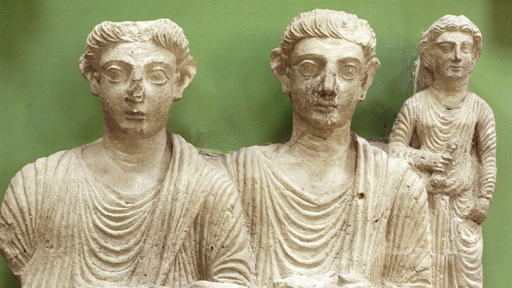 Statues from Palmyra