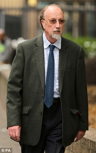 Former teacher: Charles Napier, 67, conducted a 'campaign of abuse' at the school where he worked