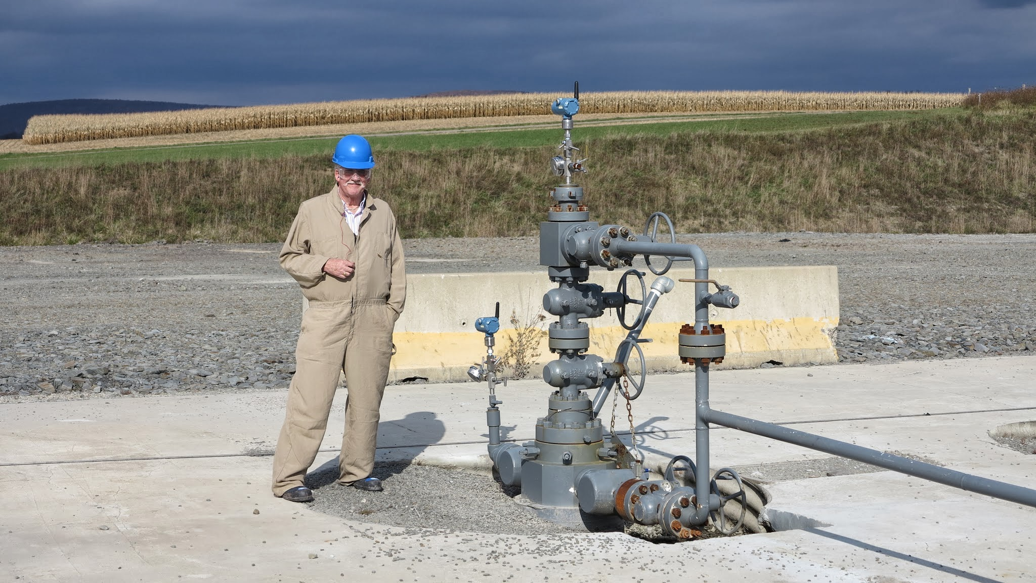 In the small town of Mansfield PA, on the great Marcellus shale field