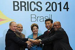 Líderes de los países BRICS