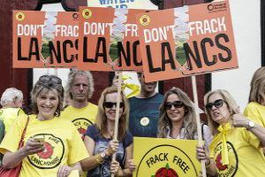 Councillors have voted to reject Cuadrilla's application. Photo: Friends of the Earth