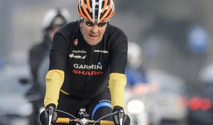 In this picture taken on March 16, 2015 US Secretary of State John Kerry rides his bike during a break in Lausanne.  According to an official spokesperson, US Secretary of State John Kerry was taken to hospital after having sustained suspected leg injuries during a cycling accident near Scionzier, France on May 31, 2015. He was transported via medical helicopter to the Geneva University Hospital (HUG), where he is currently being evaluated. AFP PHOTO / FABRICE COFFRINI        (Photo credit should read FABRICE COFFRINI/AFP/Getty Images)