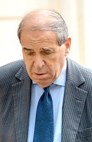 Former Tory MP Geoffrey Dickens, who died in 1995, said he gave details of Establishment paedophiles – known as 'Dickens dossier' – to then Home Secretary Leon Brittan (pictured) in 1983