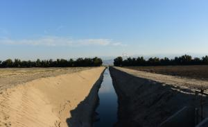 Water levels have dropped significantly in irrigation…