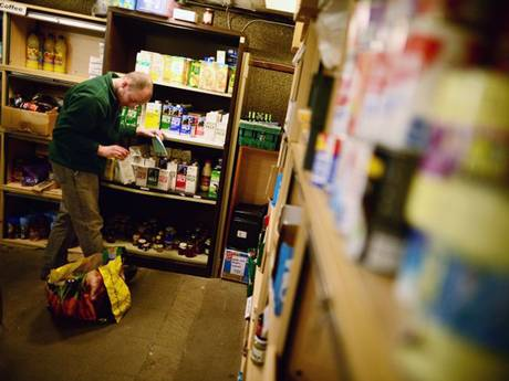 Nearly a million people were helped by food banks in 2013-14