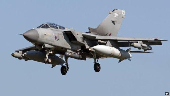 RAF Tornado GR4 in Cyprus