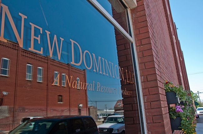 Oil and gas company New Dominion  is Prague, Oklahoma's biggest employer — and has been accused of causing damaging earthquakes there. Photo credit: New Dominion