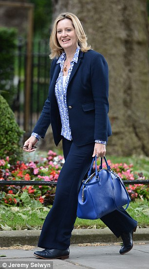 Warning:Energy Secretary Amber Rudd (pictured) said the current system allowed applications to be 'dragged out for months or even years on end'