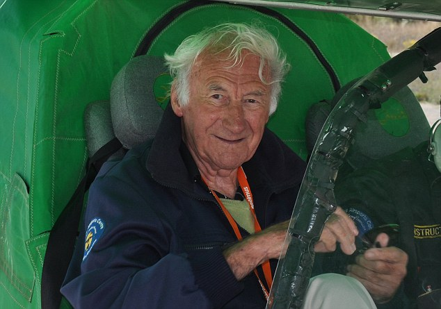 'I've never known the VJ Day to be like this,' said Doug Marsh (pictured), 92, a former RAF navigator who guided Allied aircraft over Burma