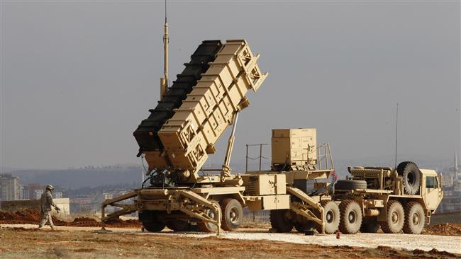 The plan involves deploying long-range Patriot missiles to shoot down enemy missiles, according to senior US military officers. (file photo)