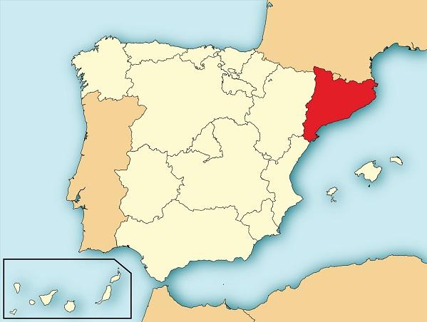 Catalonia Location