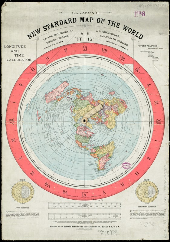 Gleason's New Standard Map Of The World 1892 (Source: https://www.digitalcommonwealth.org/search/commonwealth:7h149v85z/)