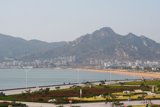 Shidao, in the easternmost tip of the province of Shandong, China