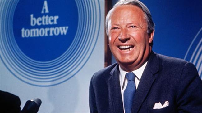 File photo of former UK PM Edward Heath