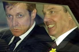 Alistair Campbell and Blair