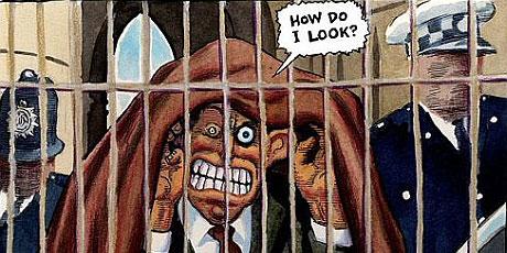 Blair in jail