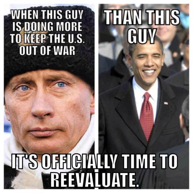 putin vs obama war