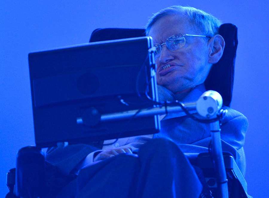 British physicist Stephen Hawking © Toby Melville