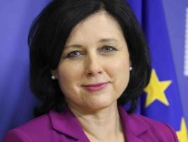 Komisařka Věra Jourová; zdroj: Evropská komise.