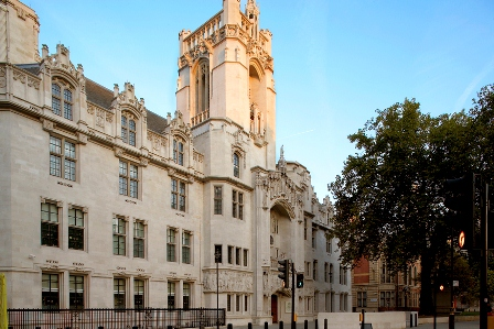 The UK Supreme Court's final judgement in ClientEarth's case against the UK government was handed down on April 29 2015 (Photo - UK Supreme Court)