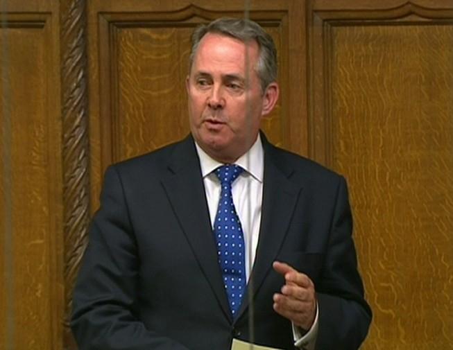 Ex-Defence Secretary Dr Liam Fox (PA)