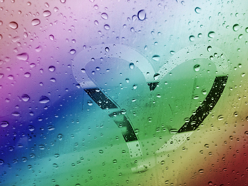 love window rainbow