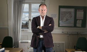 Douglas Carswell photographed for the Observer New Review at his offices in Westminster.