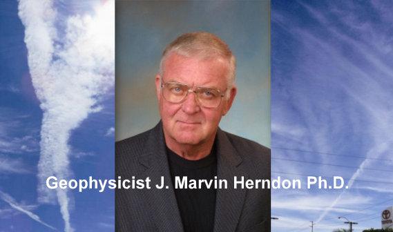 Risultati immagini per Dr. Marvin Herndon chemtrails