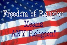 Most American support freedom of religion, any religion. However, what is happening here, is not the free excercise thereof, it is a planned political and social invasion.
