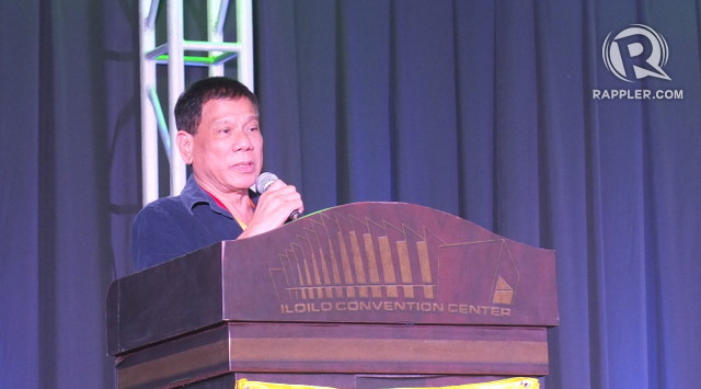 'ON THE BRINK.' Davao City mayor Rodrigo Duterte says the Senate Electoral Tribunal allowing Grace Poe to run for president may convince him to run for the same position. Photo by Pia Ranada/Rappler