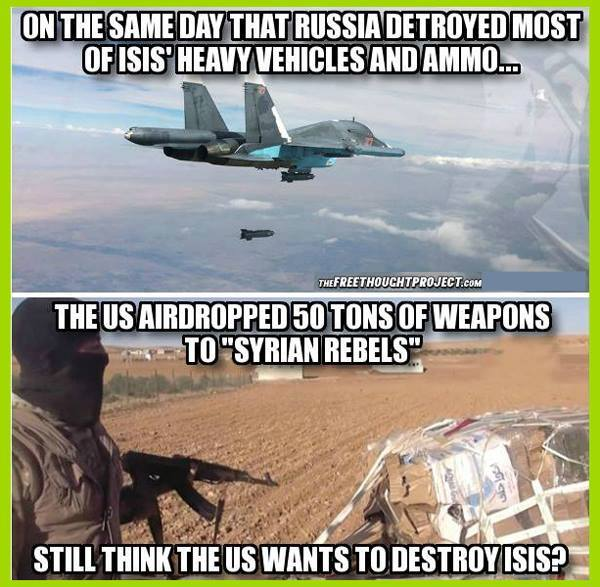 US weapons to is