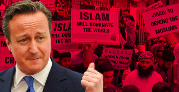 Cameron's Double Speak on Extremism: Record Shows Britain a Major Suppoter of Terror