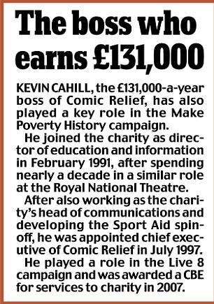 The boss who earns £131,000