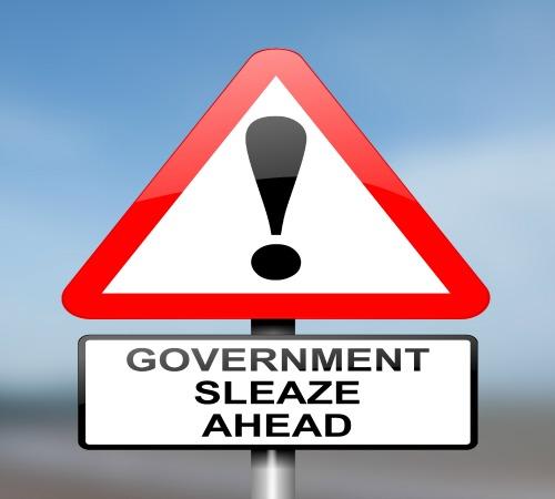 government corruption sleaze