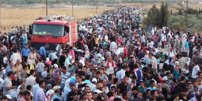 Some of the millions of people who have fled Syria. Photo credit: The UN Refugee Agency / G. Gubaeva